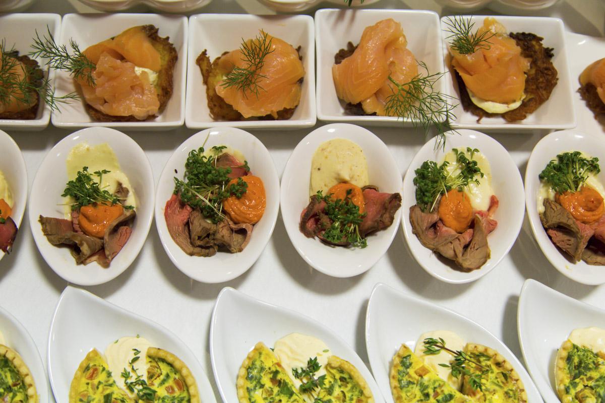 Hochzeitsbuffet für 120 Personen im Zikkurat Firmenich