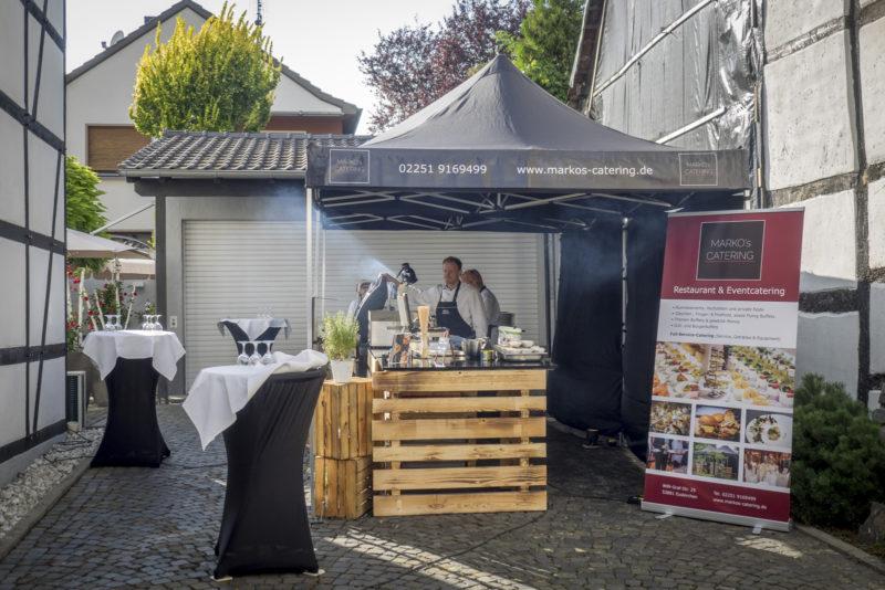 Catering Silberhochzeit Restaurant bei Marko