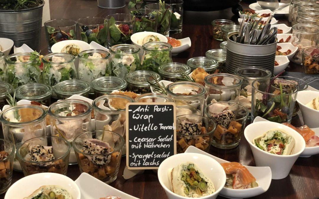 Gläschen Food für 40 Personen