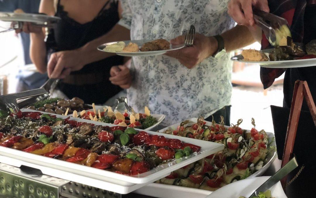 BBQ Buffet in der Mastertmühle in Kall / Geburtstag mit 80 Personen
