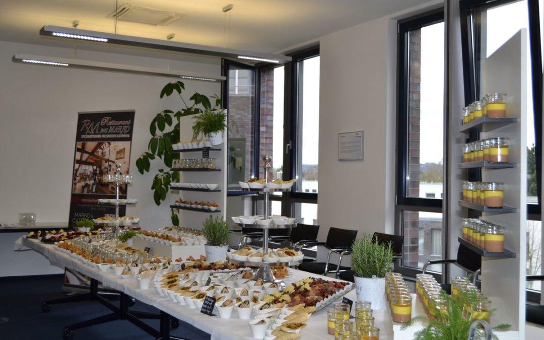 Firmencatering in Bonn mit 60 Personen