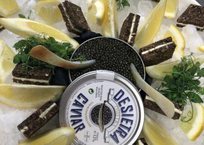 Kaviar bei Marko's Catering